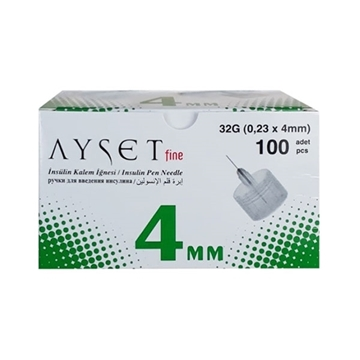 Picture of AYSET FİNE 32G 4 MM INS.İĞNE UCU