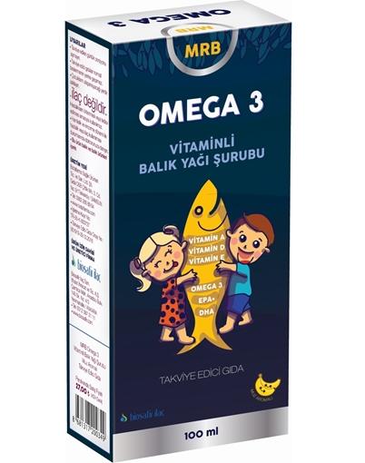 Picture of MRB OMEGA 3 BALIK YAĞI 100 ML SRP MUZLU