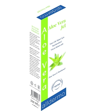 Picture of ALLDERMO ALOE VERA 200 ML JEL