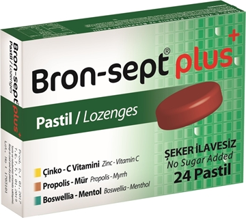 BRON-SEPT PLUS 24 PASTİL resmi