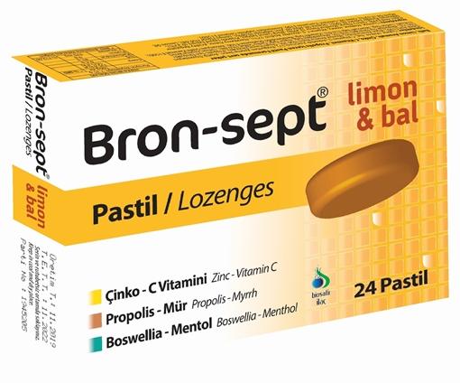 BRON-SEPT LİMON BAL 24 PASTİL resmi