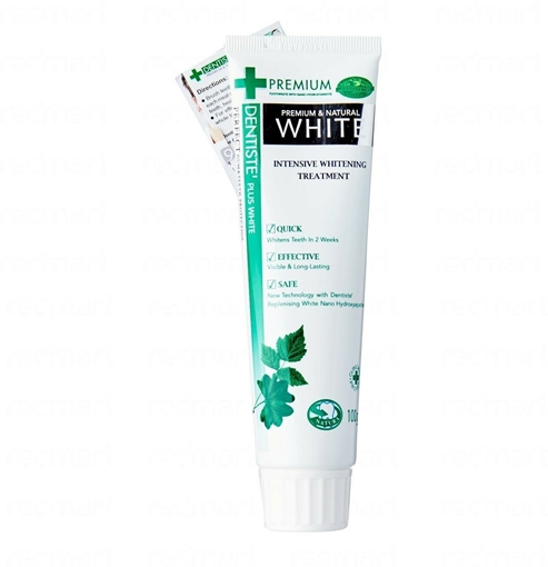 Picture of DENTISTE NATURAL WHITE 100 GR