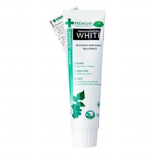 DENTISTE NATURAL WHITE 100 GR resmi