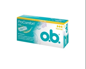 O.B. PROCOMFORT NORMAL 16 TAMPON resmi