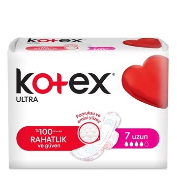 KOTEX ULTRA PED UZUN 7 LI resmi