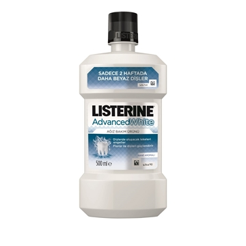 LISTERINE 500 ML ADVANCED WHITE resmi