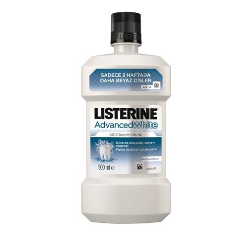 LISTERINE 500 ML ADVANCED WHITE resmi