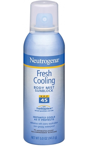 Picture of NEUT.FRESH COOLING SPF 45 140 GR SPREY