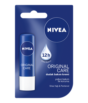 NIVEA LIP CARE ESSENTIAL CARE SHEA YAGI resmi