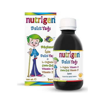 Picture of NUTRIGEN BALIK YAĞI PORTAKAL 200 ML