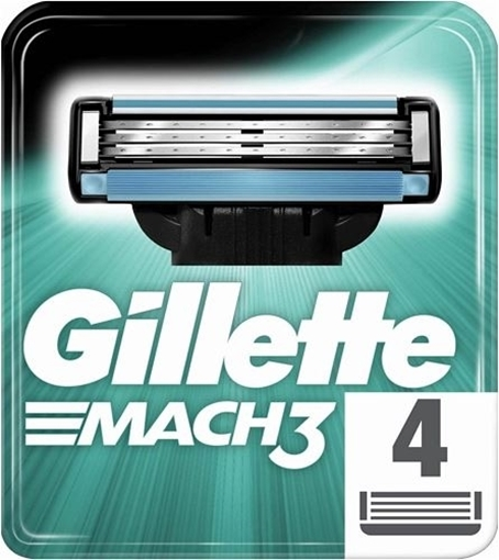 Picture of GILLETTE MACH3 4 LU YEDEK BICAGI