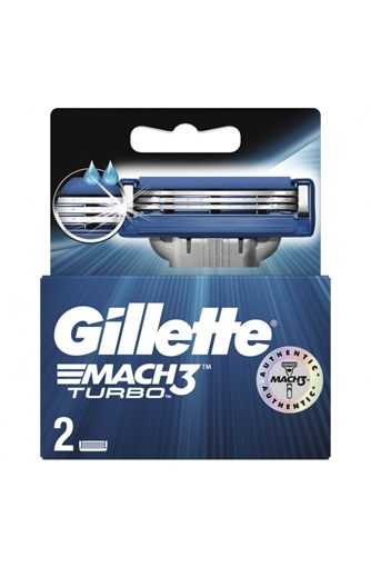 Picture of GILLETTE MACH3 TURBO 2 LI YEDEK BICAGI