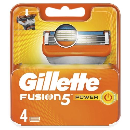 GILLETTE FUSION 4 LU YEDEK BICAGI resmi