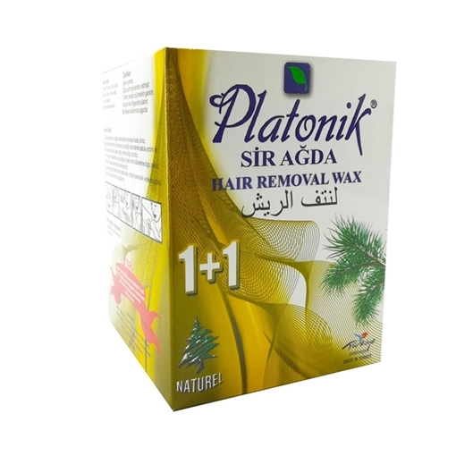PLATONIK SIR AĞDA 1+1 NATUREL SET resmi