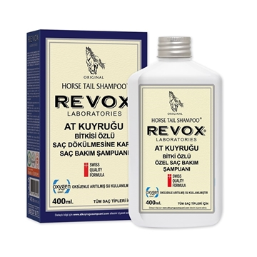REVOX AT KUYRUGU 400 ML BİTKİ ÖZLÜ ŞAMPUAN resmi