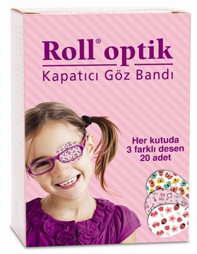 Picture of ROLL OPTİK 20 LI KIZ GÖZ BANDI