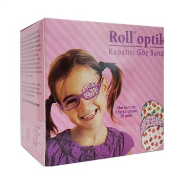 Picture of ROLL OPTİK 50 LI KIZ GÖZ BANDI