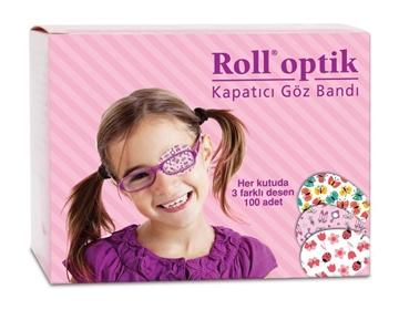Picture of ROLL OPTİK 100 LI KIZ GÖZ BANDI