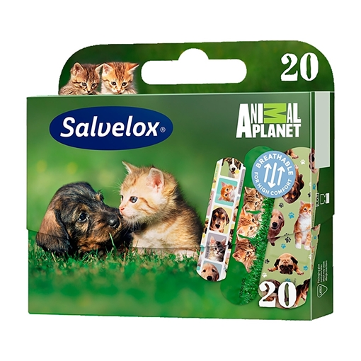 SALVELOX ANIMAL PLANET 20 Lİ resmi