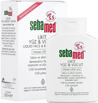 Picture of SEBAMED LİKİD YÜZ VE VUCUT 200ML