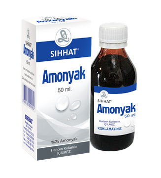 Picture of AMONYAK 50 ML SOL.(SIHHAT)