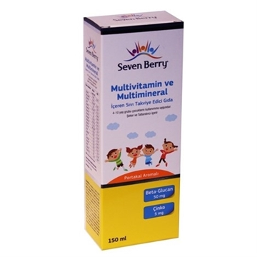 Picture of SEVEN BERRY MULTI MINERAL PORTAKAL 150 ML