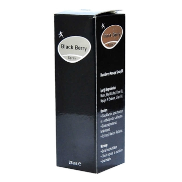 BLACK BERRY MASAJ SPREY 25 ML resmi