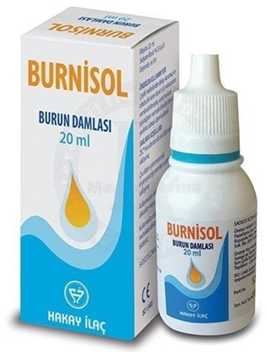 BURNISOL BURUN DAMLASI 20ML resmi