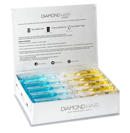 DIAMOND SAÇ BAKIM SETI resmi