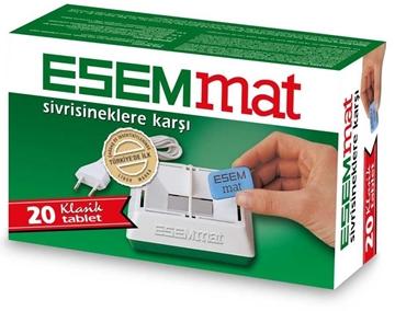 Picture of ESEMMAT KABLOLU MAT CIHAZ+20 TABLET