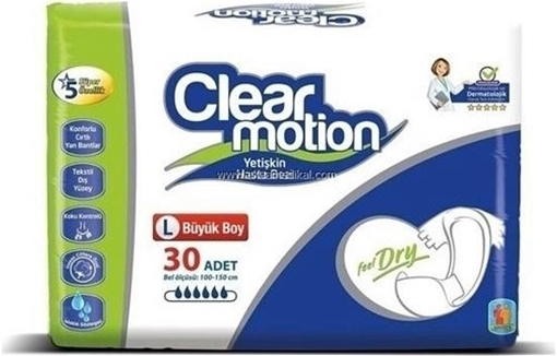 HASTA BEZI 30 LU LARGE (CLEAR MOTION) resmi