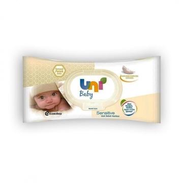 Picture of UNİ BABY SENSITIVE ISLAK BEBEK HAVLUSU 56 LI