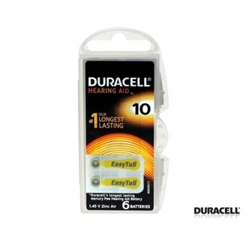 Picture of KULAK PILI NO:10 6 LI (DURACELL)