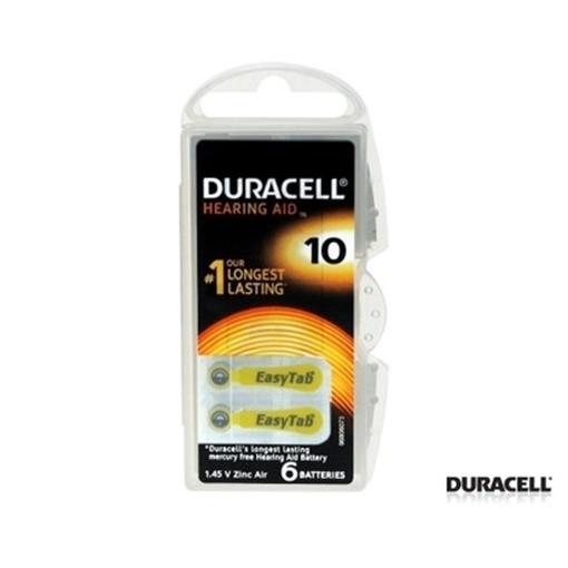 Picture of KULAK PILI NO:10 6 LI (DURACELL)