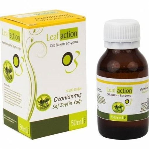 Picture of LEAF ACTION OZONLANMIŞ SAF ZEYTIN YAG 50 ML