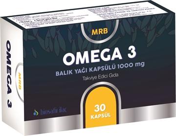 Picture of MRB OMEGA 3 BALIK YAĞI 1000 MG 30 KAPSUL