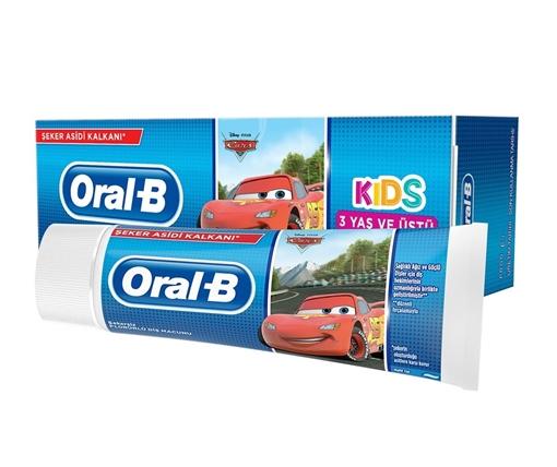 ORAL-B KIDS DİŞ MACUNU 75 ML+3 YAŞ (ERKEK)(MIAD 12-2021) resmi