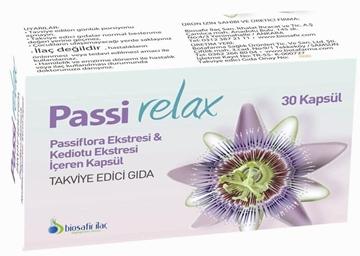 PASSI RELAX 30 KAPSUL (PASSIFLORA) resmi