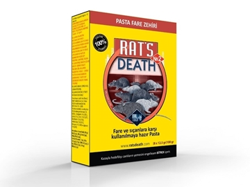 RATS DEATH FARE PASTASI 100 GR resmi