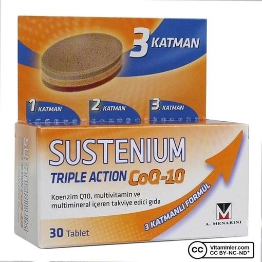 SUSTENIUM TRIPLE ACTION 30 TABLET resmi