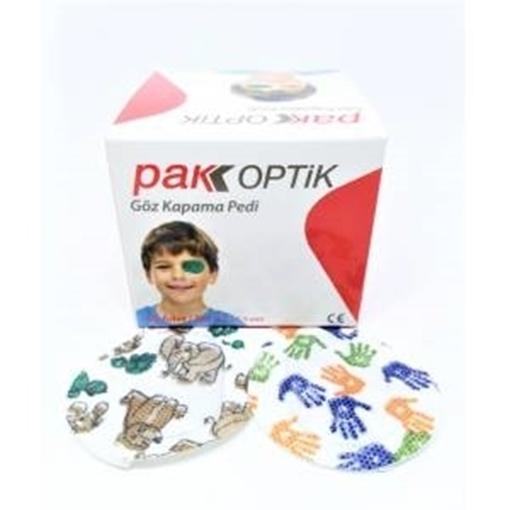 Picture of PAK OPTİK 50 LI GÖZ KAP. PEDI(COCUK)