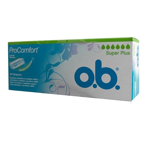 Picture of O.B. PROCOMFORT SUPER 16 TAMPON