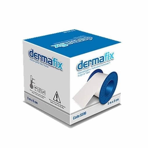 DERMAFIX PLUS 5 M 2.5 CM FLASTER resmi