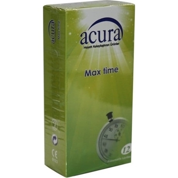 Picture of ACURA CONDOM MAX TIME 12 LI (AC 9002)