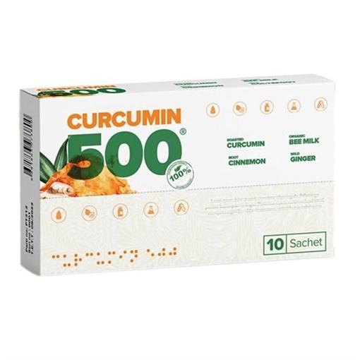 CURCUMIN 500 GIDA TAKVIYESI 10 SASE resmi