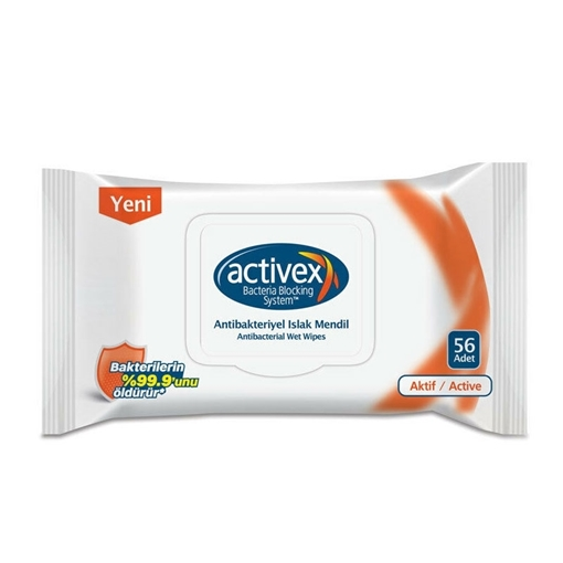 ACTIVEX ISLAK MENDIL AKTIF 56 LI resmi