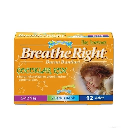 BREATHE RIGHT BURUN BANDI ÇOCUK resmi