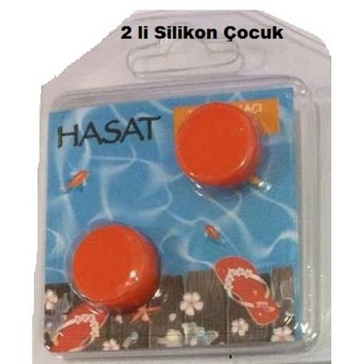 Picture of KULAK TIKACI 2 LI SILIKON COCUK HASAT