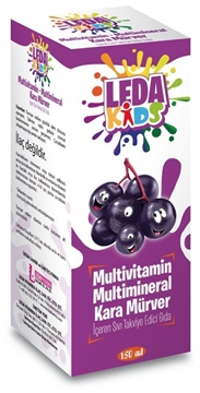 Picture of LEDA KIDS SAMBU KARAMURVER C VITAMIN 125 ML