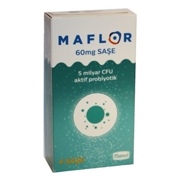 Picture of MAFLOR 60 MG 4 ŞASE
